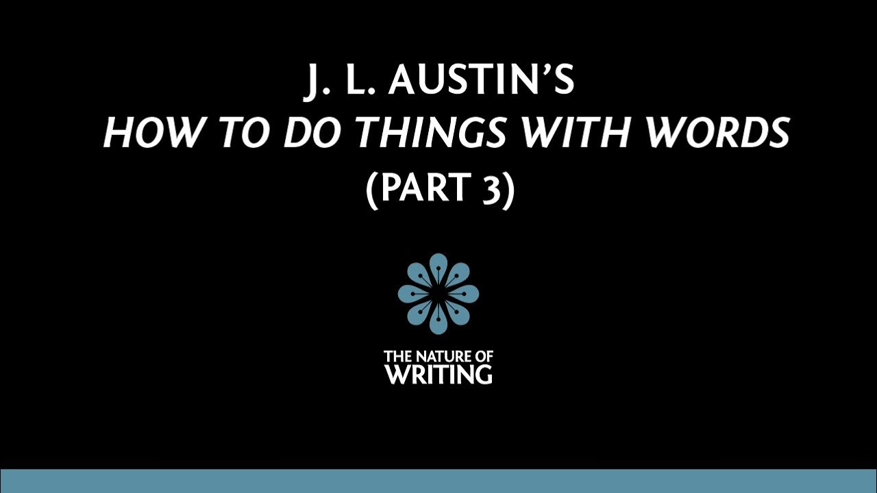 austin how to do things with words pdf