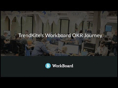 Trendkite's OKR Journey with Workboard