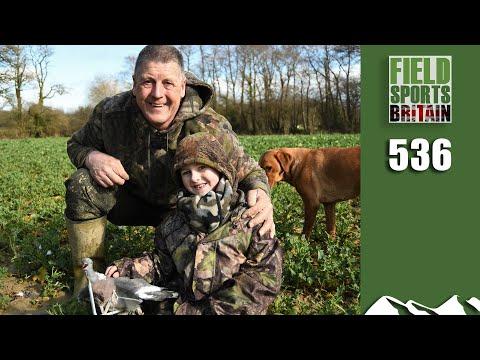 Fieldsports Britain - Crow Takes His Grandson Shooting