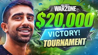 How We WON $20,000 Playing WARZONE!