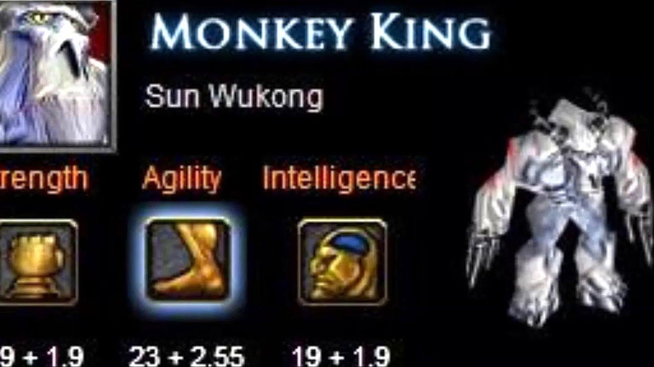 dota 2 sun wukong the monkey king abilities revealed youtube
