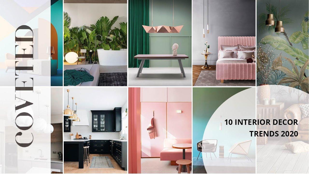 2020 Trends Home.10 Interior Decor Trends 2020