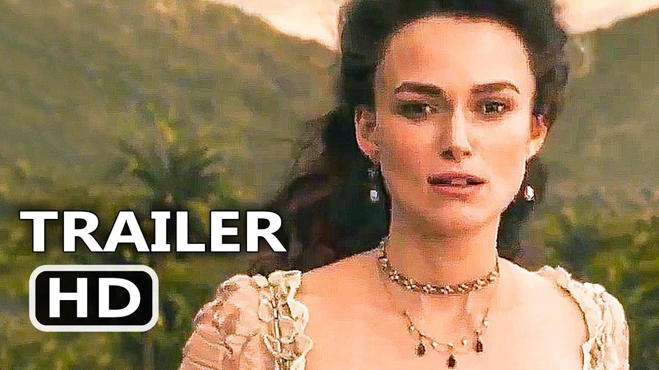 Pirates Of The Caribbean 5 Elizabeth Swan Trailer 2017 Dead Men Tell No Tales Disney Movie Hd