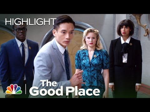 The Good Place - An All-Knowing Burrito? (Episode Highlight)