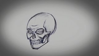 How to Draw a Skull | Drawing Tips