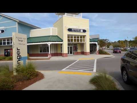 Tanger One Shopping Mall In Bluffton, SC