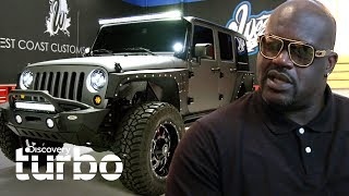 ¡Nuevo y modificado Jeep para el hijo de Shaquille O'Neal! | West Coast Customs | Discovery Turbo