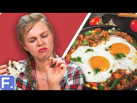Irish People Taste Test Mexican Breakfasts