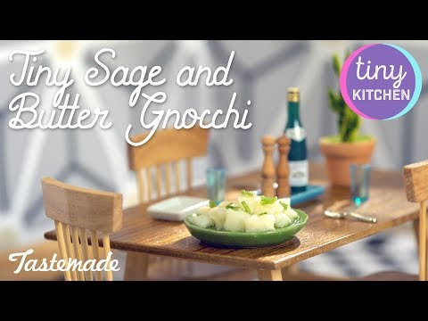 Tiny Sage and Butter Gnocchi I Tiny Kitchen