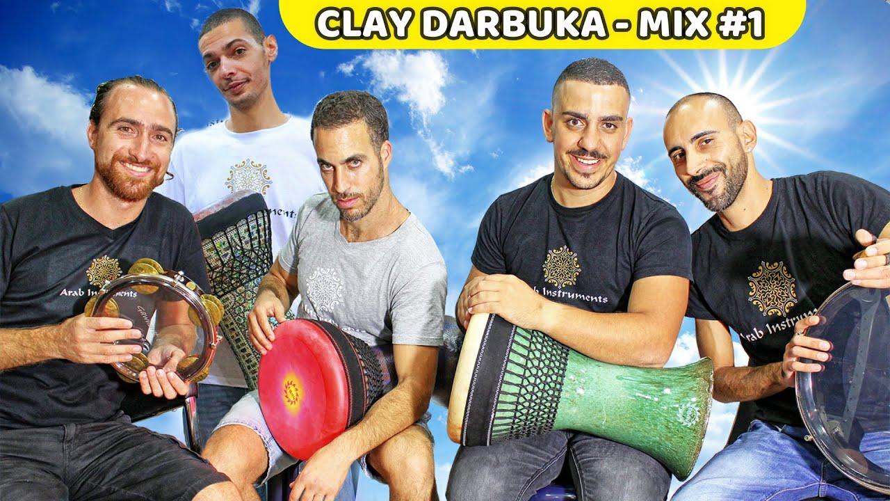 Ceramic Doumbek / Darbuka - Top Mix #1