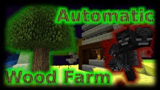 Panda's Survival #16: Automatic Wood Farm