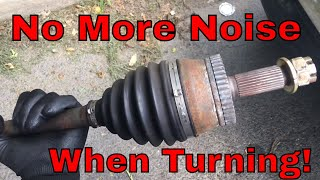 How To Replace The CV Axle On Your Car