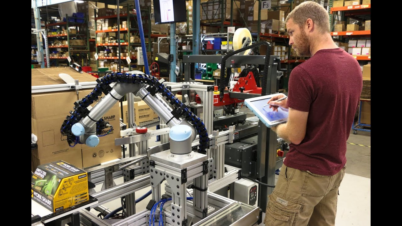 Cobots Take Over Undesirable Tasks, Optimize Assembly and Packaging by 30%