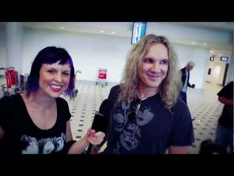 Soundwave TV: Steel Panther Airport Interview 2012
