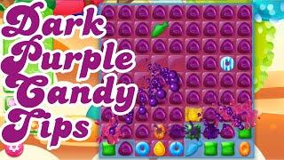 Candy Crush Soda & Jelly Saga Dark Purple Candy - How it Works