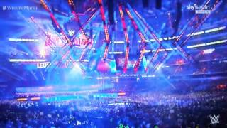 Sasha Banks WWE Wrestlemania XXXII Entrance
