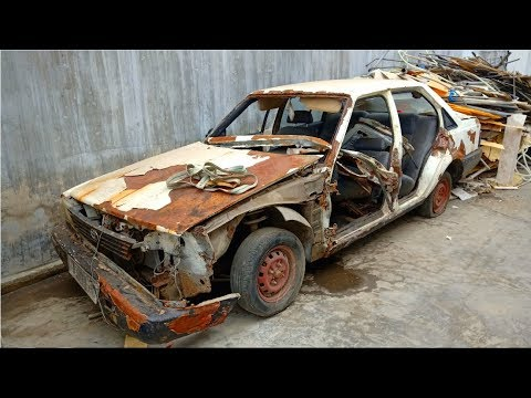 Restoration Old And Rusty Camry Car In 1991 | Restore And Reuse Old Toyota Camry 2.0 Car