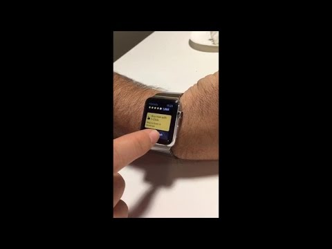 Accidentally ordering from Amazon during an Apple Watch demo