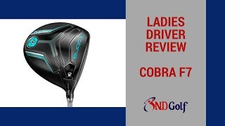 Ladies Cobra F7 Driver review with Michelle Harvey (Round 1)