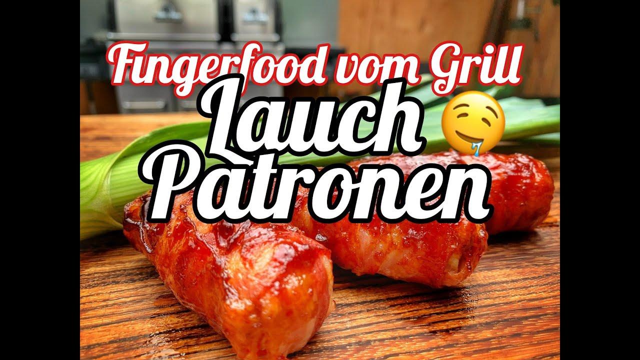Lauch Patronen - Fingerfood vom Grill - Westmünsterland BBQ