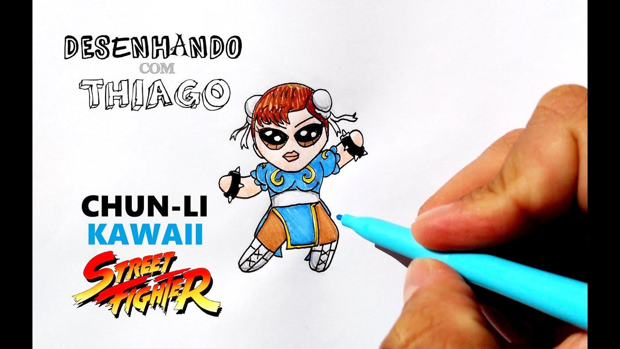 CHUN-LI - KAWAII (Desenhando com Thiago)