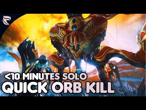 Warframe: How to kill the Orb Mother in 10 minutes or less SOLO thumbnail