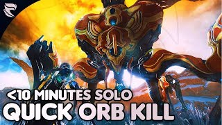 Warframe: How to kill the Orb Mother in 10 minutes or less SOLO