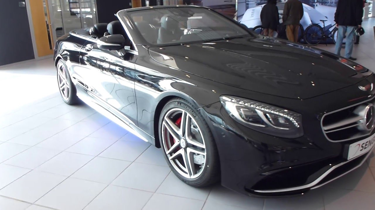 2016 Mercedes S 63 Amg 4matic Cabrio 5 V8 Bi Turbo 585 Hp 250 Km H 155 Mph See Also Playlist