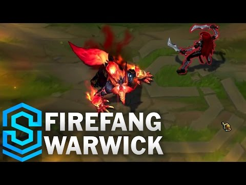 Firefang Warwick (2017) Skin Spotlight - League of Legends