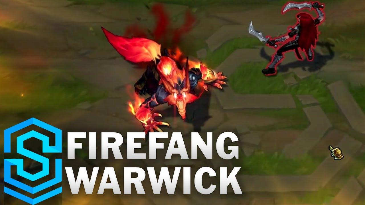 Firefang Warwick 2017 Skin Spotlight League Of Legends Youtube