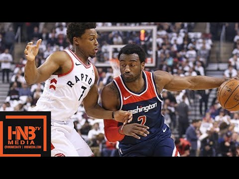 Toronto Raptors vs Washington Wizards Full Game Highlights / Game 2 / 2018 NBA Playoffs
