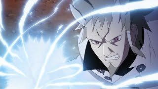 Hagoromo easily blocked Ten Tailed's attack with Susanoo, Hagoromo and Hamura learned jutsu Eng Dub