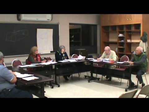 Norfolk Colebrook Collaboration Study Group, Facilities and Transportation Subcommittee
