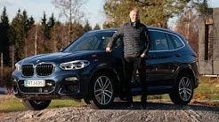 Testissä uusi BMW X3 (Teknavi 2017)