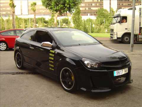 opel astra gtc tuning youtube. Black Bedroom Furniture Sets. Home Design Ideas