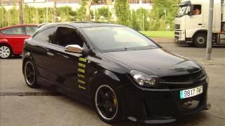 видео Тюнинг Opel Astra H GTC