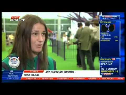 Katie Taylor On Winning Olympic Gold Medal