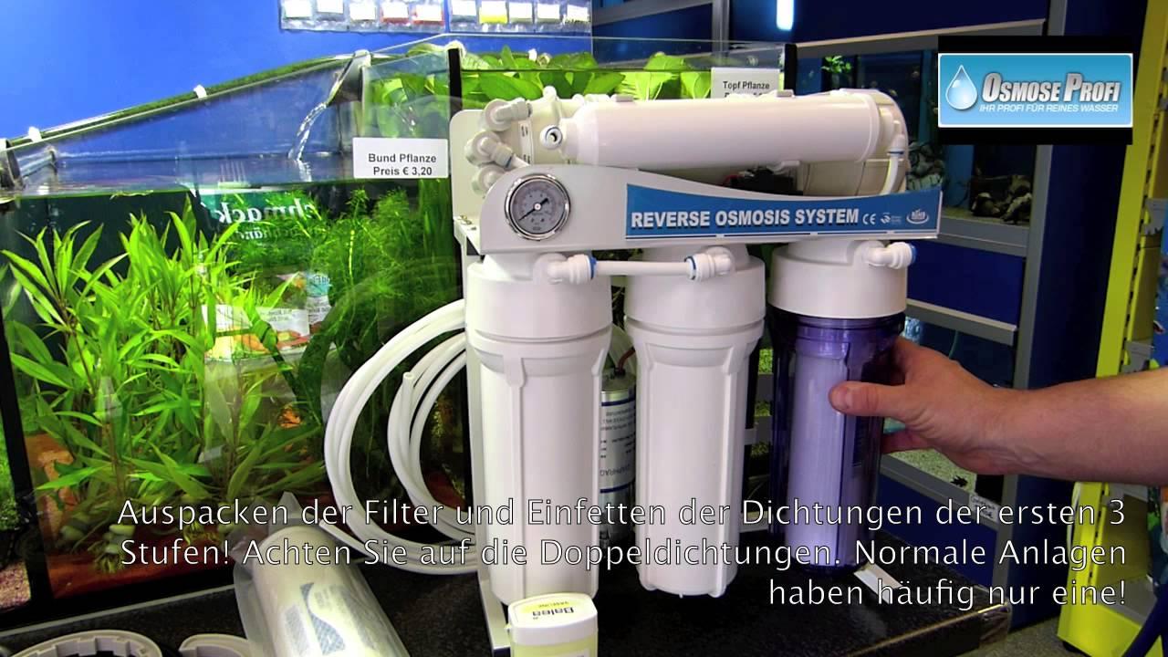 Turbo Osmoseanlagen und Wasserfilter für die Aquaristik BL44