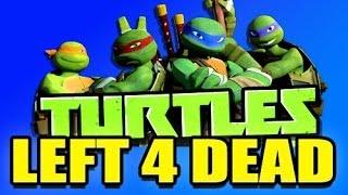 Left 4 Dead TEENAGE MUTANT NINJA TURTLES Mod! (L4D 2)