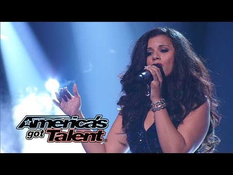 "Kelli Glover: Singer Stuns With ""If I Ain't Got You"" Alicia Keys Cover - America's Got Talent 2014"