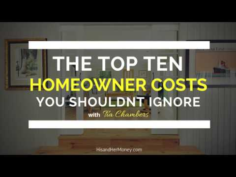 The Top Ten Howeowner Owner Costs You Shouldn't Ignore with Tia Chambers || AUDIO ONLY ||
