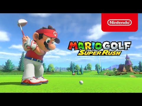 Jouez en famille et entre amis avec Mario Golf: Super Rush (Nintendo Switch)