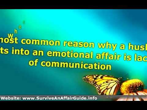 How to know if husband is having an emotional affair