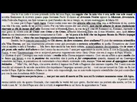 FINE DEI TEMPI (21-12-12 Calend. Maya) nel cap. 21 (!!) escatologico, Vang. Giovanni.wmv