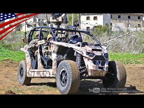 3秒で0-100km/hに加速する軍用EV(電気自動車):レックレスUTV