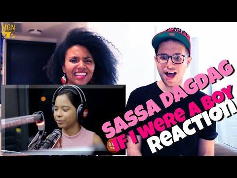 Sassa Dagdag - If I Were A Boy Reaction