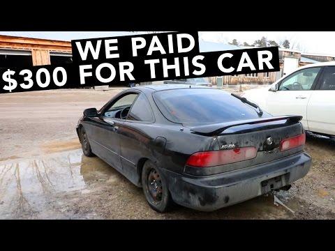 New Cheap Acura Integra FWD Project Car?