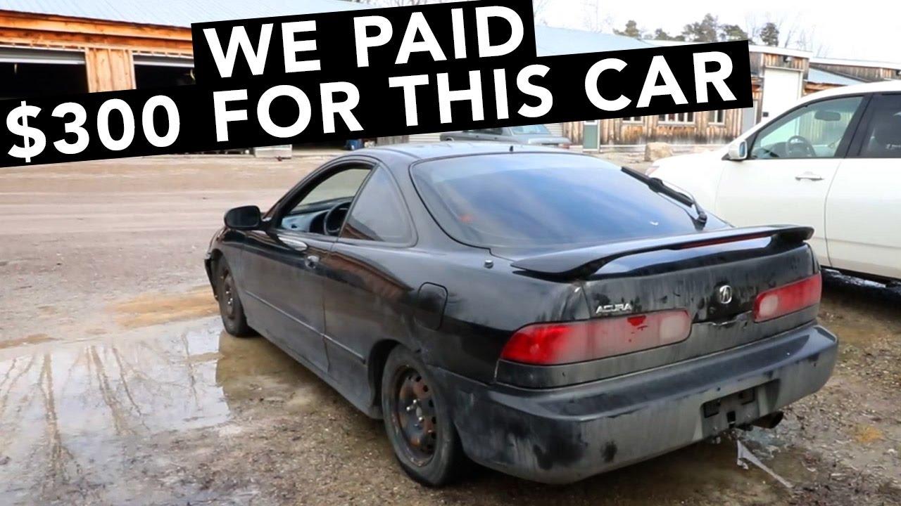 New Cheap Acura Integra FWD Project Car YouTube - Cheap acura