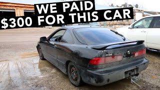 New Cheap Acura Integra FWD Project Car?