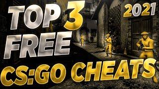 CS:GO HACKS: MY TΟP 3 FREE CSGO CHEATS FOR 2021 (UNDETECTED)